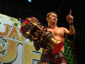 オカダ・カズチカの涙に見えた想い。MSGでのIWGP戦と柴田勝頼への誓い。