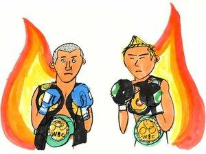 """7人のボクシング日本人世界王者、""""パウンドフォーパウンド""""は?"""