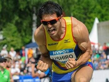 日本史上初の入賞可能性を持つ男。十種競技の「キング」、右代啓祐。<Number Web> photograph by AFLO