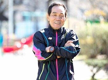<マラソン> 24時間テレビの伴走でお馴染みの坂本雄次さんに100kmマラソンとフルマラソンの走り方を聞いた。<Number Web> photograph by Sports Graphic Number