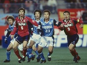 令和に語り継ぐ、J平成名勝負(4)~2001年CS第2戦:鹿島vs.磐田~<Number Web> photograph by J.LEAGUE