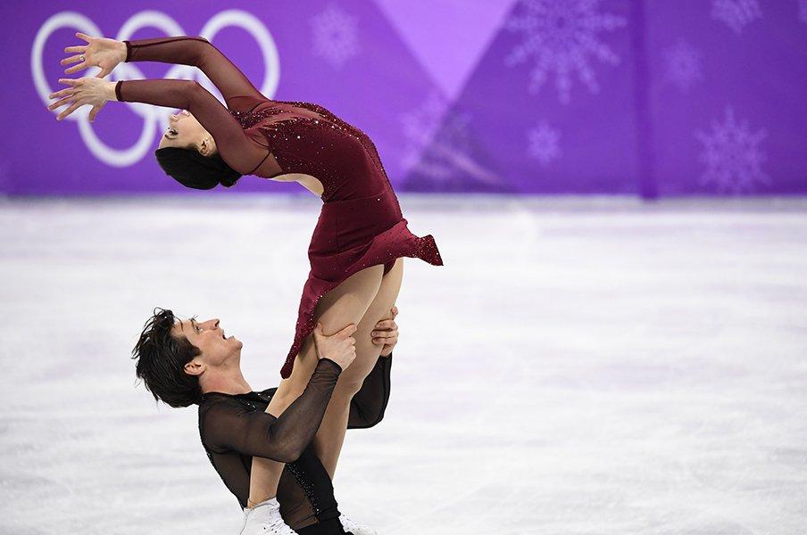 歴史的激戦制したバーチュー&モイア。アイスダンスは世界記録の金メダル!<Number Web> photograph by Tsutomu Kishimoto/JMPA