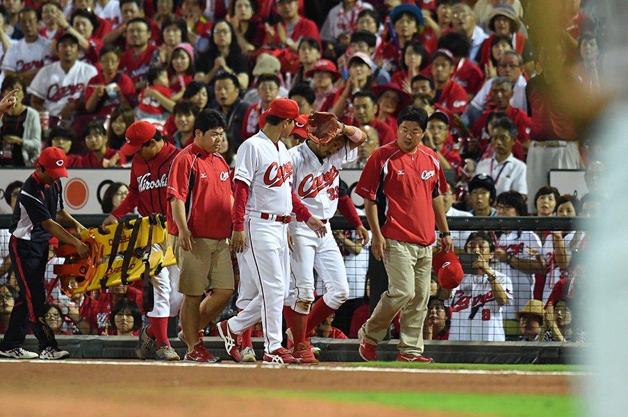カープを優勝に導いた「我慢の男」。菊池涼介は……弱みを見せなかった。<Number Web> photograph by Hideki Sugiyama