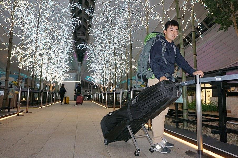 お金や地位より旅を選ぶゴルファー。川村昌弘「シードがない方が……」<Number Web> photograph by Yoichi Katsuragawa