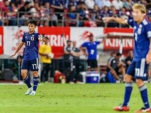 6月16日のサッカー、注目試合。久保先発出場、香川が今季3点目