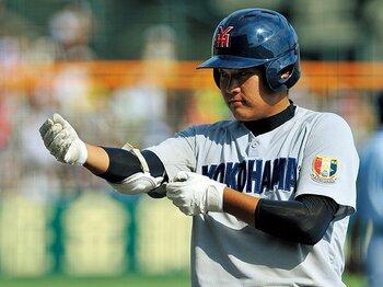 筒香嘉智が横浜高の4番だった頃。松坂世代を追い、渡辺監督に学び。<Number Web> photograph by Hideki Sugiyama