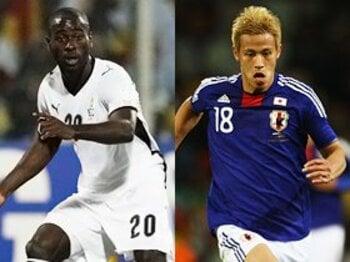 あのワールドユースから5年……。本田圭佑とクインシーの明暗。<Number Web> photograph by Action Images/AFLO, FIFA via Getty Images