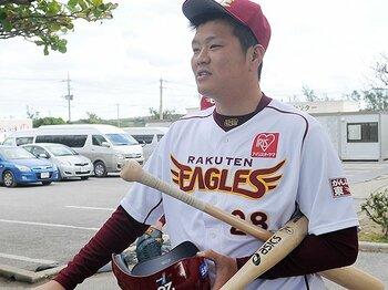 野村元監督は見抜いていた打者適性。楽天・片山、10年目の転向を考える。<Number Web> photograph by NIKKAN SPORTS