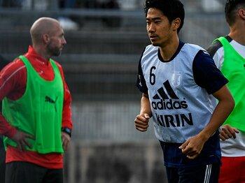 香川真司は批判の声を跳ね返すか。「僕は上手く起点になれればいい」<Number Web> photograph by Takuya Sugiyama