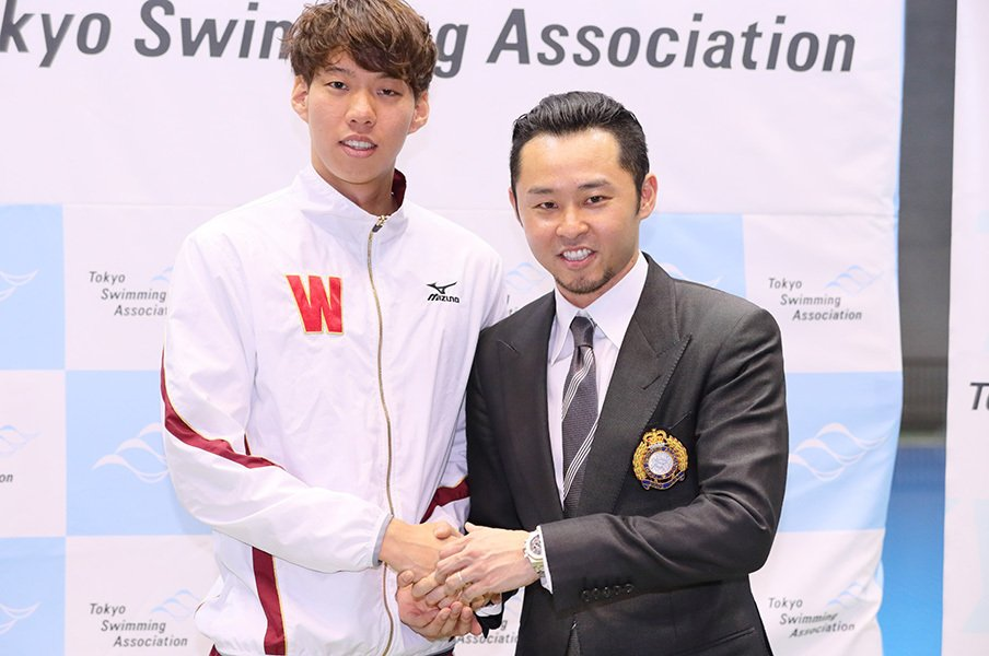 200m平泳ぎの世界記録を持つ日本人。渡辺一平の、感情を整理する力。<Number Web> photograph by AFLO