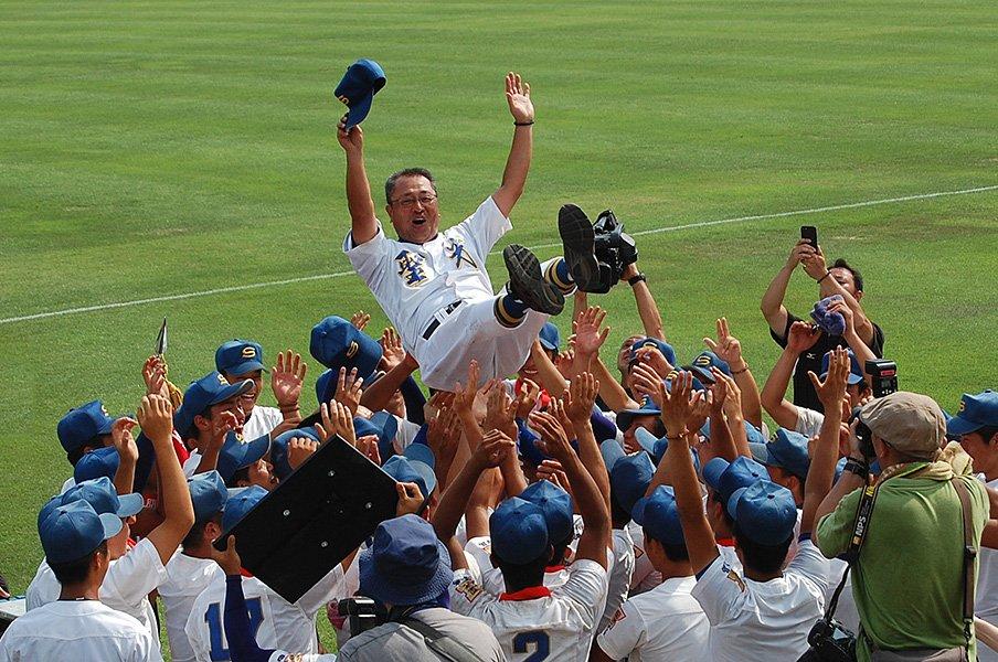 史上最強・聖光学院が福島12年連覇。転機は監督の「負けてみろ!」。<Number Web> photograph by Genki Taguchi