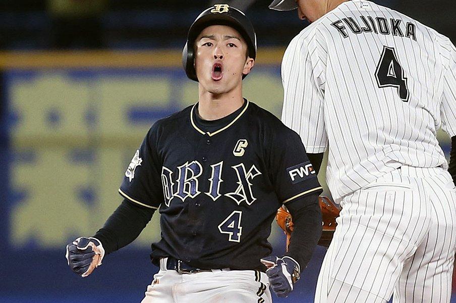 首脳陣も期待する生粋のファイター。オリ福田周平が攻め続ける理由。<Number Web> photograph by Kyodo News