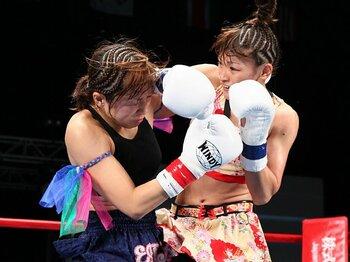下馬評を覆して勝利を手にしたRENAの意地。~神村エリカを破った意味~<Number Web> photograph by Susumu Nagao