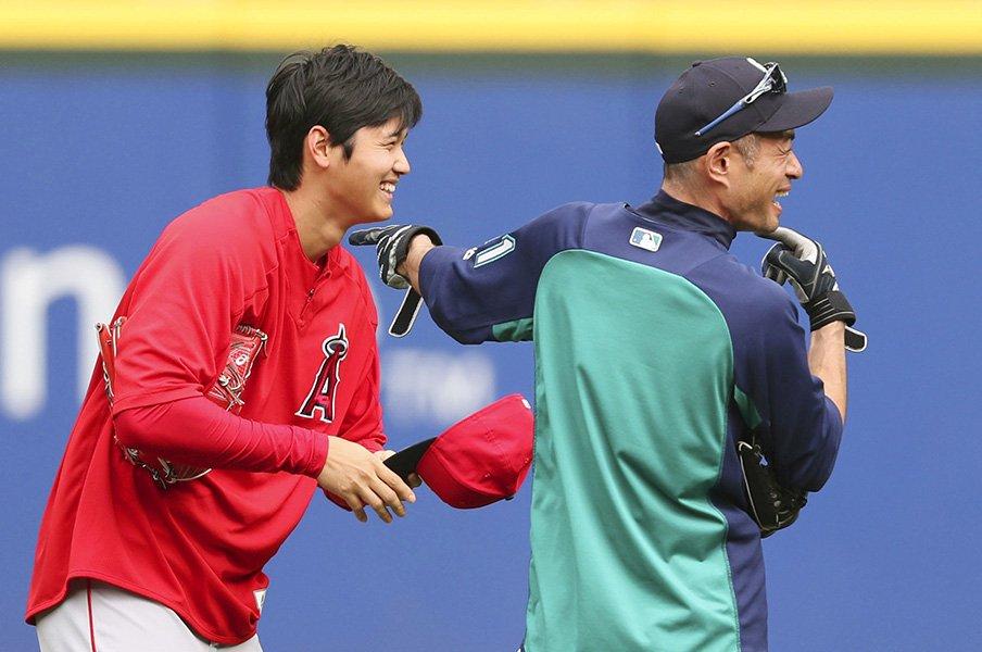 イチローが考える大谷翔平の超才能。速球や長打力より大事な能力とは?<Number Web> photograph by Kyodo News