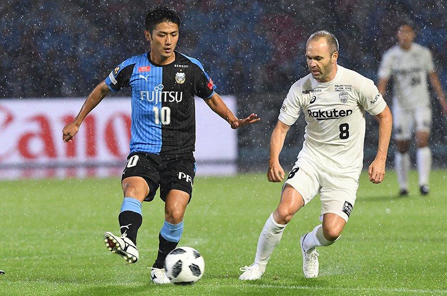イニエスタから川崎へ最高の賛辞。「良いサッカー」で圧倒する秘訣。<Number Web> photograph by Getty Images