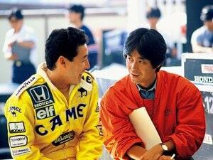 中嶋悟が語る、今宮純さんとF1。「気持ちを許してしゃべれた」