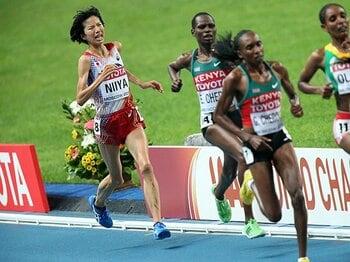 「スパートではアフリカ勢に勝てない」新谷仁美、戦略と割り切りの5位入賞。<Number Web> photograph by Takashi Okui/AFLO