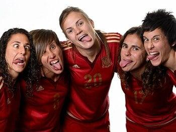 """スペイン女子代表がW杯後に""""反乱""""!全選手とリーグが監督に退任要求。<Number Web> photograph by Getty Images"""