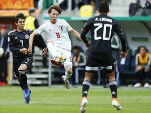 試合を楽しんでメキシコに完勝。U-20W杯の日本、決勝T確実か。