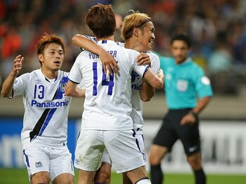 ACL、敵地・韓国でまたも3点大勝!柏とは対照的なG大阪の「らしさ」。<Number Web> photograph by J.LEAGUE PHOTOS