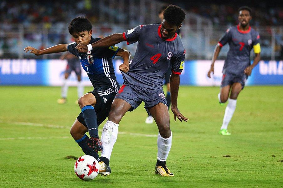 サッカーU-17W杯で最大の山場が!最強イングランドに日本は勝てるか?<Number Web> photograph by FIFA via Getty Images