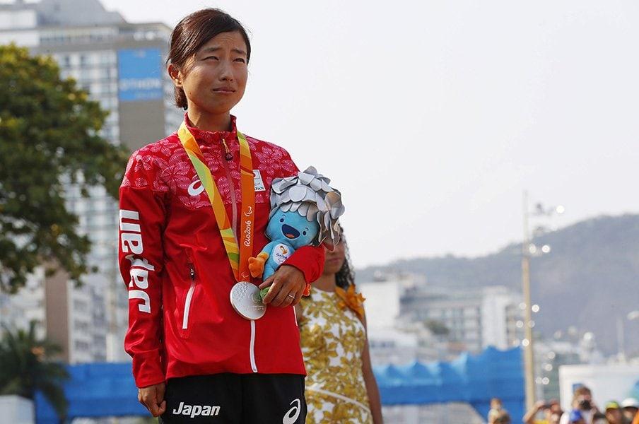 メダルから音が鳴り、施設が充実。パラ五輪を充実させたリオの人々。<Number Web> photograph by AFLO