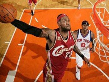 2010年、NBAに激動の時代きたる!! ニックス&レブロンで来季は優勝?<Number Web> photograph by NBAE/Getty Images