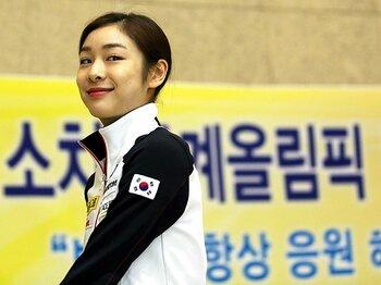 絶賛、ゴシップ、そして「大トリ」?韓国メディアのキム・ヨナ狂騒曲。<Number Web> photograph by Yonhap/AFLO