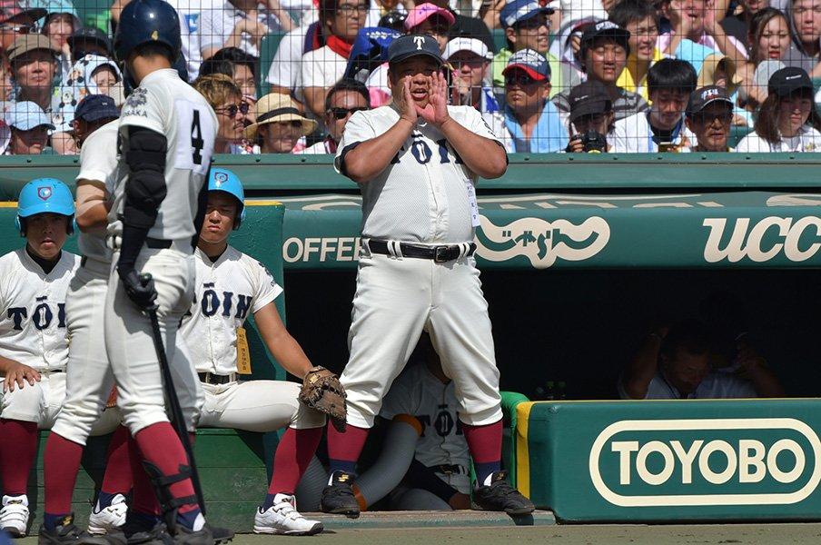 一度チームワークを捨て、その後に。大阪桐蔭を支える個と団結力の哲学。<Number Web> photograph by Hideki Sugiyama