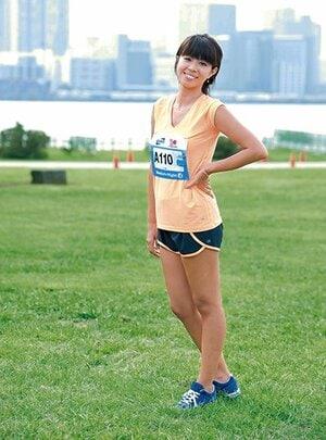 <走る女性は美しい!> BEAUTIFUL RUNNERS 美しき女性ランナーたち。