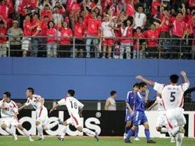 2005年東アジア選手権VS北朝鮮戦(2005年7月31日)