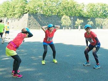 大阪マラソン直前、食べ物&練習は?「牛乳はスポーツドリンクやん?」<Number Web> photograph by Asami Enomoto