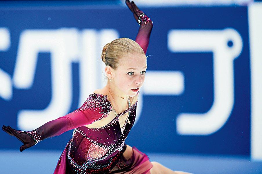 4回転4本着氷の衝撃。ネイサンが語るトゥルソワの凄さ。<Number Web> photograph by Asami Enomoto
