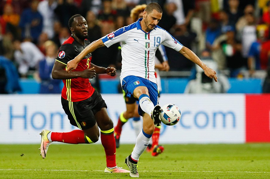 親善試合は完敗、EURO本大会は圧勝。ベルギーを破ったイタリアの本番力。<Number Web> photograph by AFLO