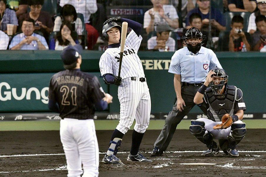 "U-18W杯で清宮・オコエが更に高く!甲子園開催の決勝に""帰って""こい。<Number Web> photograph by Kyodo News"