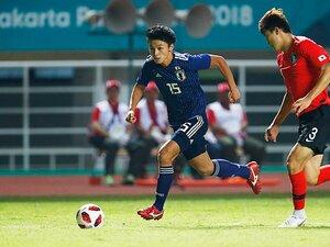 森保U-21のエース候補、上田綺世。「得点能力は誰にも負けたくない」