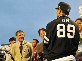 """キャンプ地に甦る永谷脩さんの思い出。~王会長が語った""""信頼感""""~<Number Web> photograph by Hideki Sugiyama"""