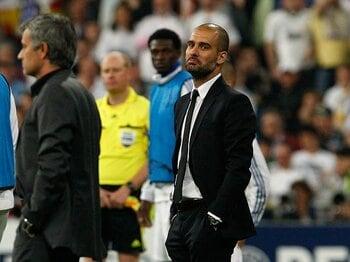 モウリーニョとレアルを完全凌駕した、グアルディオラとバルサの戦術と能力。<Number Web> photograph by Real Madrid via Getty Images