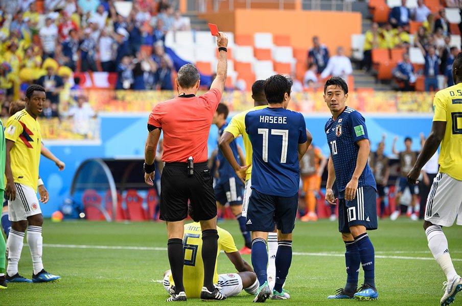ワールドカップと最短退場者。C...
