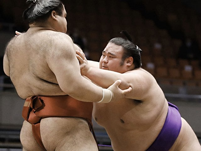 強さも仏頂面にも全部理由がある!孤高の大関・貴景勝の魅力とは?<Number Web> photograph by Kyodo News