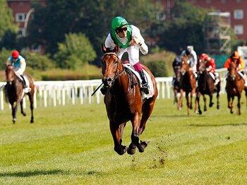 凱旋門賞に名乗りを挙げた、ドイツの異次元ダービー馬。~スミヨンも惚れたシーザムーン~<Number Web> photograph by AFLO