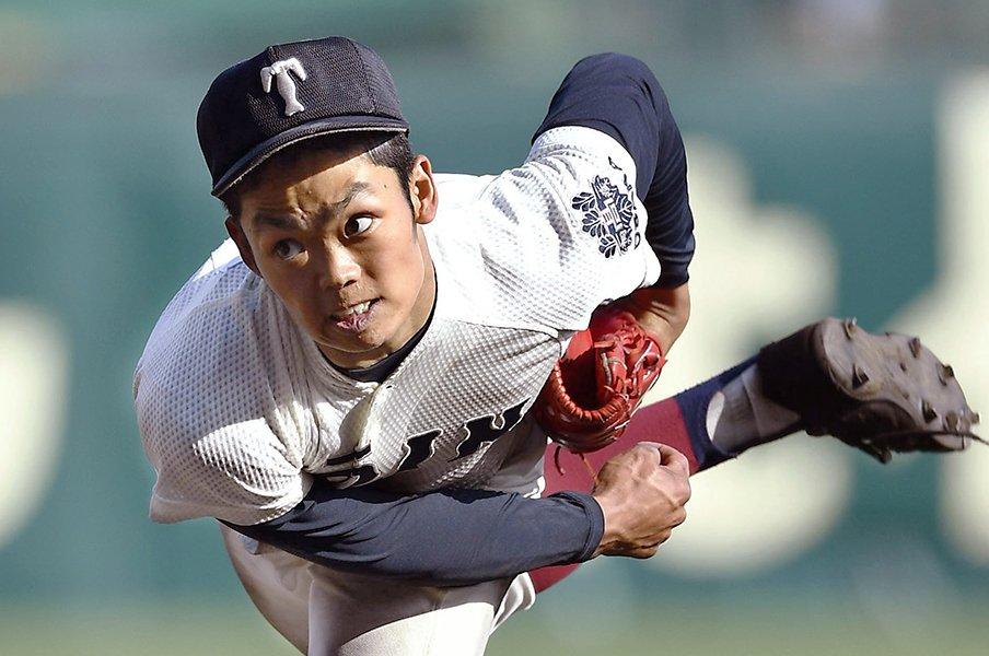 大阪桐蔭の二刀流・根尾昂に尋ねた。「注目されること、どう思う?」<Number Web> photograph by Kyodo News