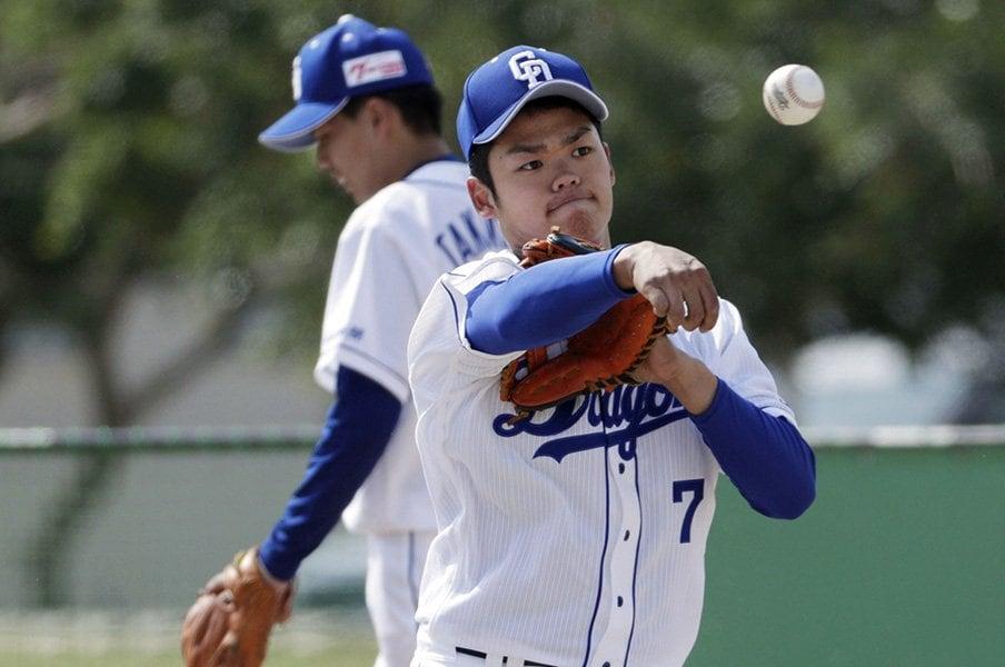 根尾昂はいつ中日で優勝できる?松坂、田中、大谷の例を見てみると。<Number Web> photograph by Kyodo News