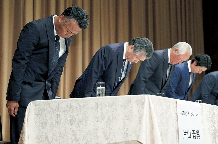 丸山茂樹が片山晋呉と話したこと。「プロアマ、ホスピタリティとは」<Number Web> photograph by Kyodo News