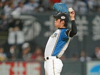 """球界唯一の""""左の本格派""""吉川光夫が最後まで見せなかった「荒々しさ」。<Number Web> photograph by Naoya Sanuki"""