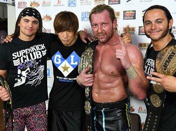 """ケニー・オメガが新日の""""横綱""""に。WWEを経ずに目指す「世界一」とは。<Number Web> photograph by Essei Hara"""