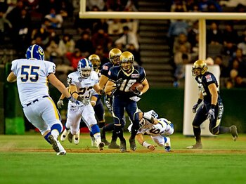 オービックを連覇に導いた、NFLに最も近づいた男。~帰ってきた木下典明~<Number Web> photograph by Michi Ishijima