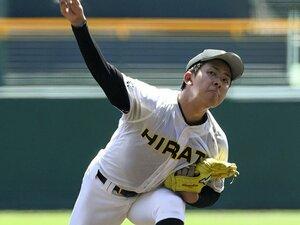 緊張はないが、未知の自分とも……。平田・古川投手と「静かな甲子園」。