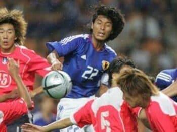 2005年東アジア選手権VS韓国戦(2005年8月7日)<Number Web> photograph by Naoya Sanuki