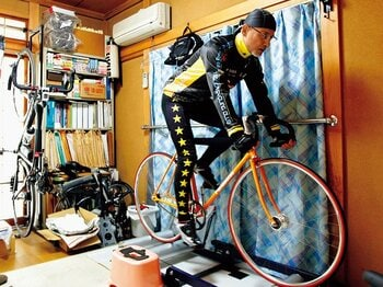 <SF作家の「自転車」論> 高千穂遙 「体型も作風も変わった」<Number Web> photograph by Tamon Matsuzono